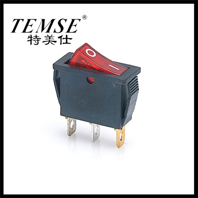Temse 3 Pin on-off with Lamp Rocker Switch