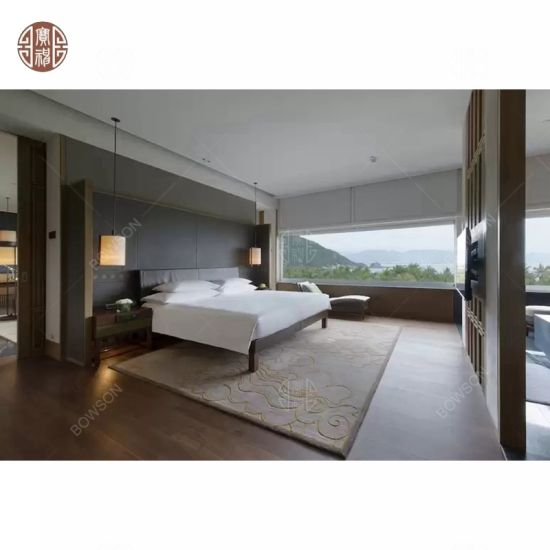 Custom Made Luxury Hotel Single Double Bed Room Furniture
