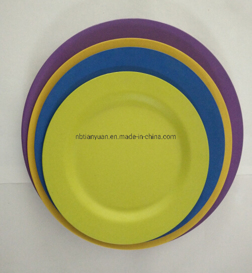 Biodegradable Bamboo Fiber Dish Plate pictures & photos