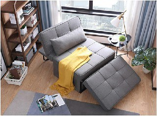 Customize Furniture Folding Sleep Sofa Bed Sleeper Sofa with Armrest