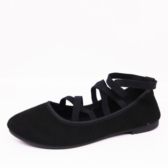Black Girls and Ladies' Ballets Comfortable Flats Ballerina Shoes