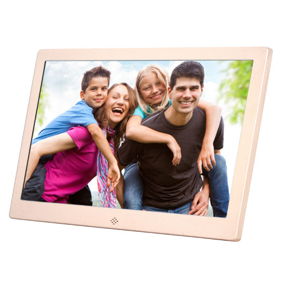 12 Inch LED Metal Digital Photo Frame Factory pictures & photos
