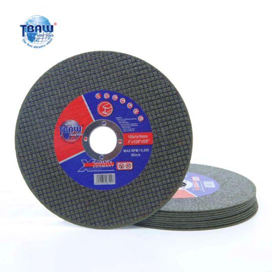 "China Manufacturer of Cutting Disc Cutting Wheel 4"""