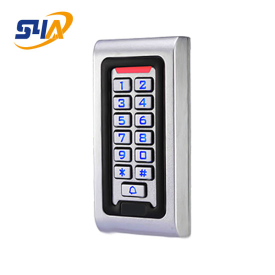 RFID EM Card Waterproof Metal Touch Keypad Door Access Control System Backlight