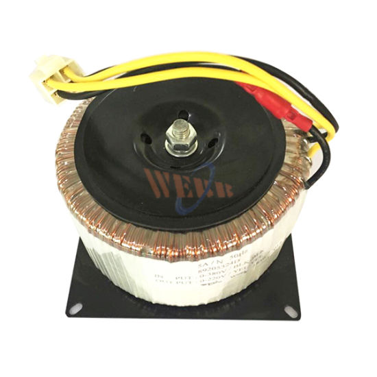 Low Frequency Single Phase Ring Toroidal Transformer UL Approved