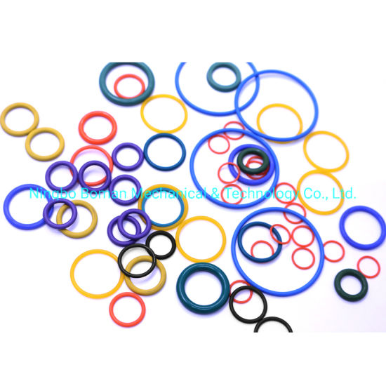 Rubber O-Ring Seals HNBR/FPM/Silicone NBR Aflas O Ring in Diffrent Color