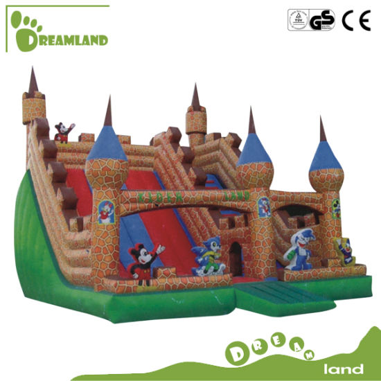 Commercial Inflatable Big Bouncer Jumping Castle for Children with Slide pictures & photos