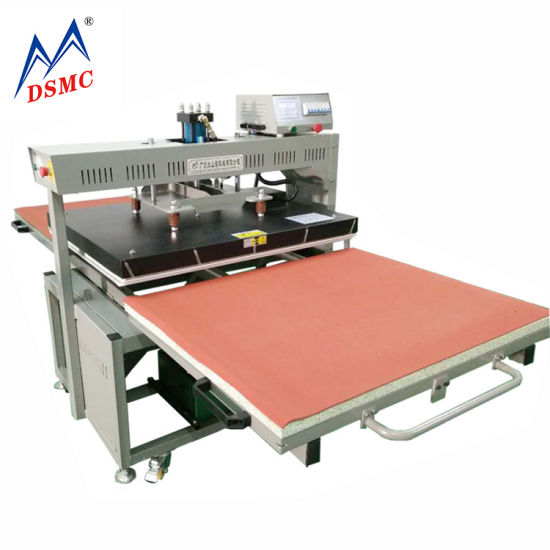 100X120cm Hydraulic Sublimation Roll Heat Press Printing Machine on Sale Guangzhou