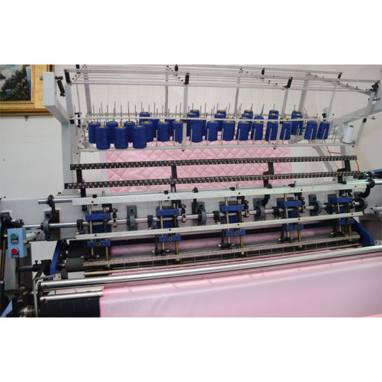 Quilting Sewing Machine, Garment Making Machine, High Speed Shuttle Quilting Machinery Yxs-128-2c/3c