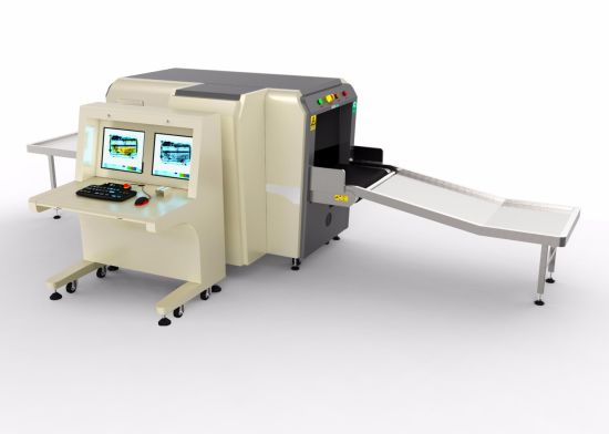 Dual View X-ray Baggage Scanner From Original Manufacturer with EXW Price At6550d