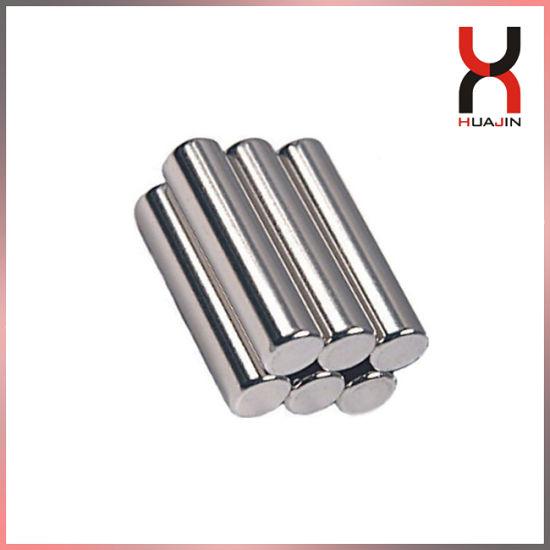N42 N45 N48 N50 N52 Cylinder Magnet Free Sample China Manufacturer Customized Magnet