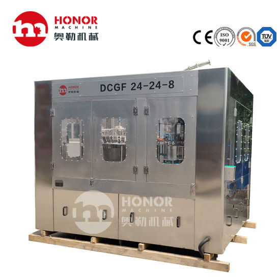 Automatic Spiral Pet Glass Pure Water Beverage Packing Packaging Machine/Equipment