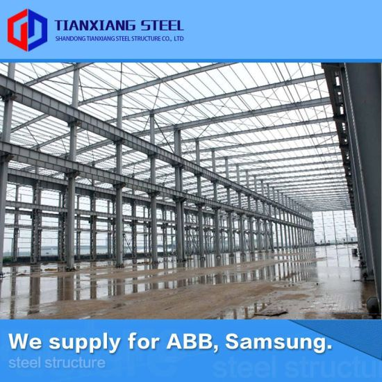 Durable Light Using Japanese Material Industrial Prefabricated Light Steel Frame Building Metal Structure