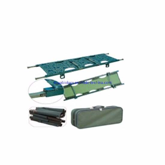 Hospital Cheap Folding Army Cot Foldable Aluminum Stretcher