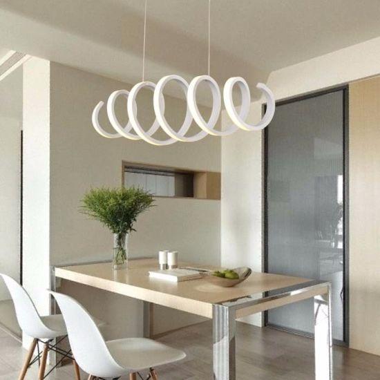Oriental Style Foyer Serpentine LED 220 Volt Chandelier