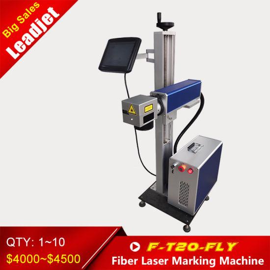 Fiber Laser Printer Marking Coder PE Cable Printing Machine