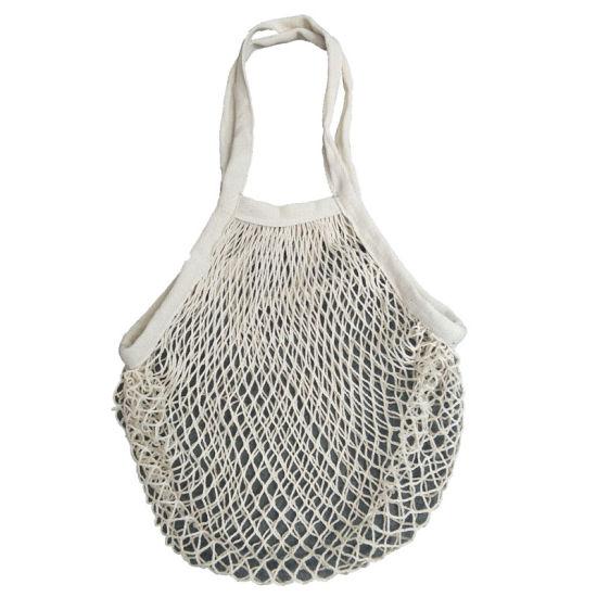 40341f66c670 China 100% Cotton Mesh Bag with Cotton Lining - China Cotton Mesh ...