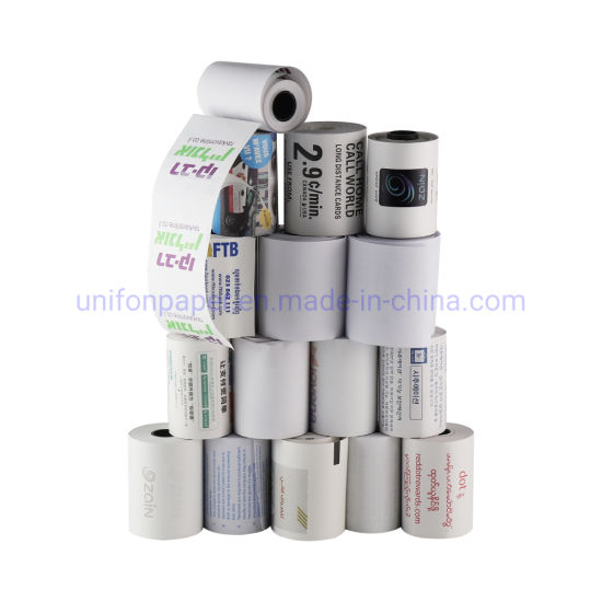 Cash Register Paper Thermal Paper Type Re-Printed Thermal Paper Roll