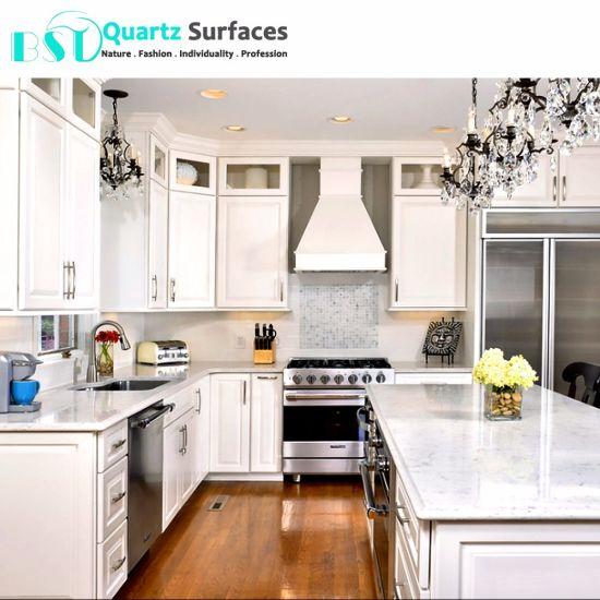 kitchen countertops white quartz.  Quartz Carrara White Prefabricated Different Modular Quartz Stone Kitchen  Countertop Throughout Countertops H