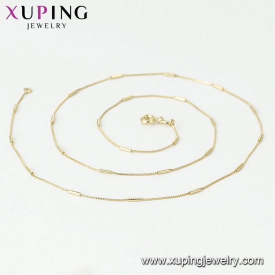 44767 Xuping Fashion 14K Gold Color Butterfly Necklace pictures & photos