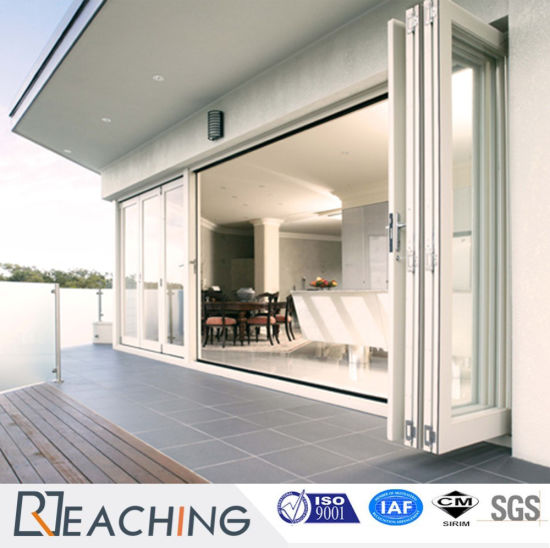 China Ground Floor Aluminium Folding Door Factory Suppply High ...