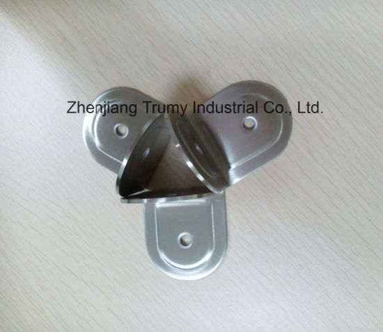 China Stainless Steel Bathroom Partition Fittings Corner Fasteners - Steel bathroom partitions