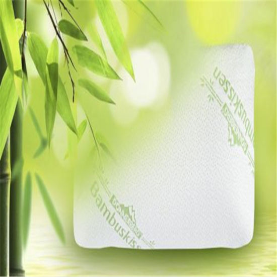 Shredded Memory Foam Pillow with Bamboo Cover pictures & photos