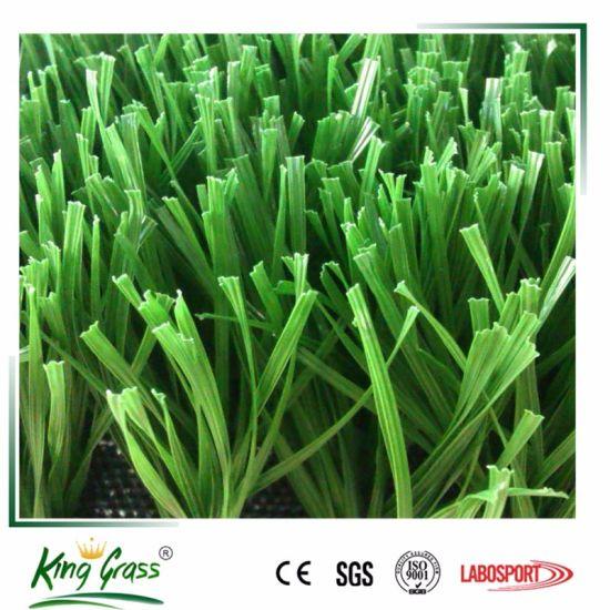 100% PE Sports Grass, Football Artificial Turf W Shape