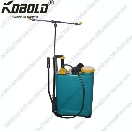16L Double Piston Manual Backpack Sprayer