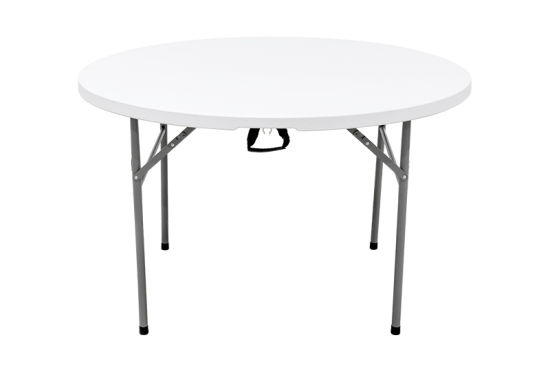 Half Folding Round Table 4ft, Round Table Plastic