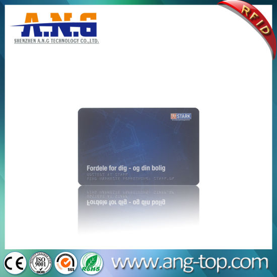 13.56MHz RFID Card Mf Plus X2K Hotel Card
