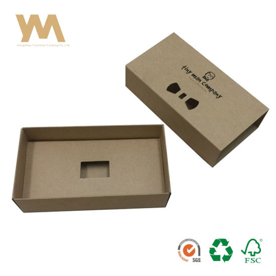 a6cc3f8aae China Cardboard Drawer Sliding Gift Bow Tie Kraft Paper Packaging ...
