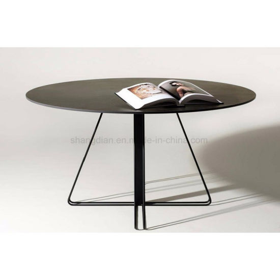 Hotel Living Room Coffee Table with Wooden Top (SF-03)