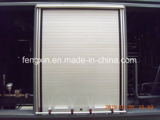 and storage roll self measuring rollup doors detail measure door commercial up opening