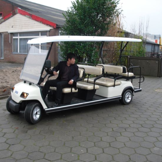 11 Seaters Electric Vehicle (Lt-A8+3) pictures & photos