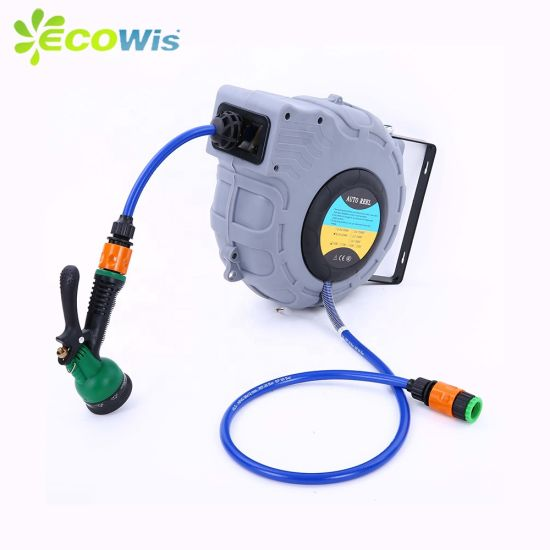 China Rewind Garden Hose Home Cleaning Automatic Retractable Hose