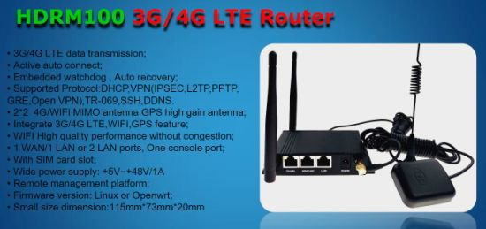 China Wireless 4G Router with Embedded Watchdog, Auto