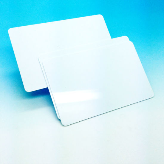 White 13.56 MHz PVC ISO Card MIFARE Plus S 2K pictures & photos