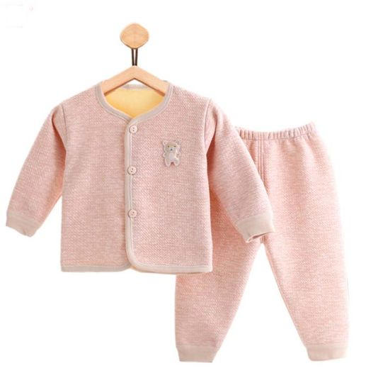 New Fashion Long Sleeve Trousers Warm Suit Two Sets Baby Wear pictures & photos