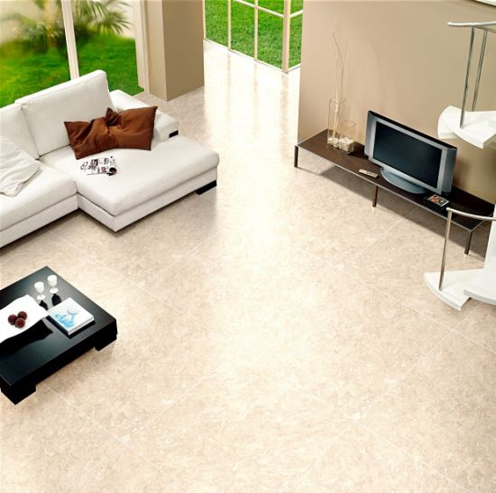 China Glossy Surface Marble Effect Porcelain Floor Tile 800X800 ...