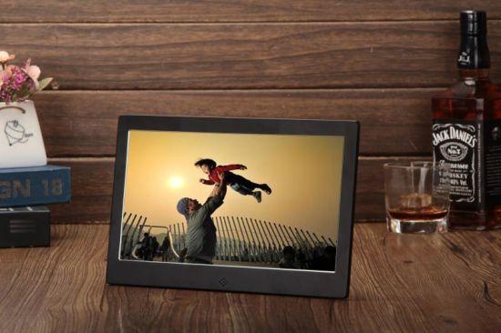 Aluminium Frame SD Card USB Port Supported 10.1 Inch LED Digital Photo Frame