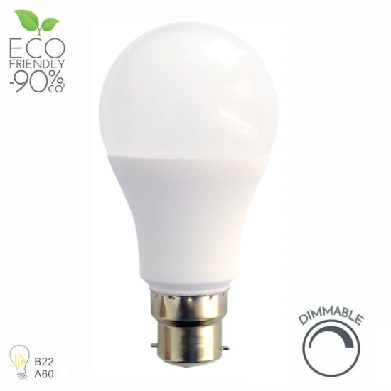 Energy Saving LED Bulb Light B22 E27 9W 12W Globe LED Light for Home