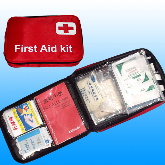 Ce, ISO, FDA Auto Car Household First Aid Kit # Kbg-A013