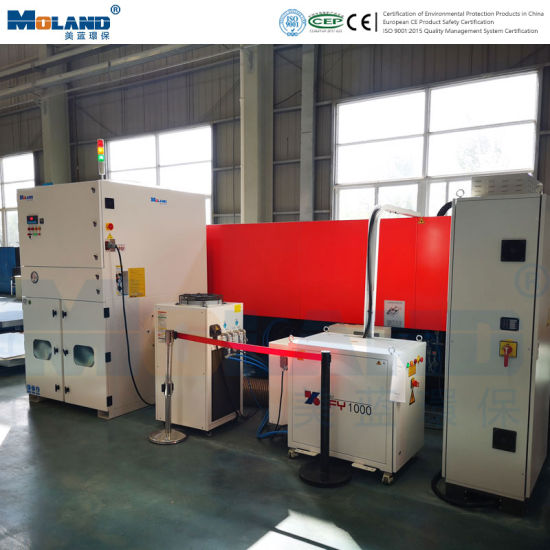 High Efficiency Industrial Filter Cartridge Dust Collector for Laser Cutting Machine