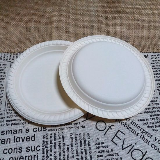 Biodegradable China Dinner Tableware Paper Plate Non Smell & Biodegradable China Dinner Tableware Paper Plate Non Smell - China ...