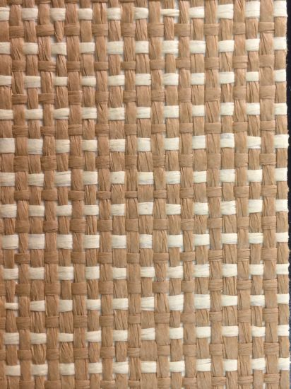 Grasscloth Texture Wall Paper Hotel Bedroom Wallcovering