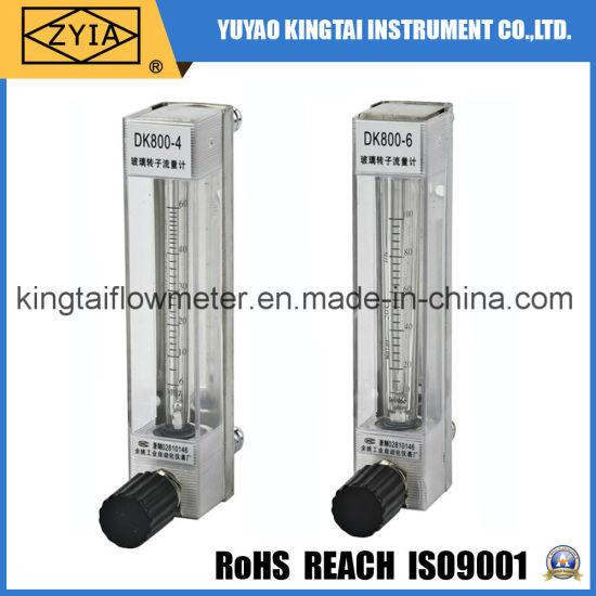 Dk800 Panel OEM Stainless Steel Variable Area Air Flow Meter
