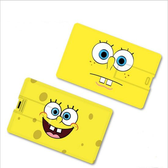 Slim Credit Card USB Flash Disk pictures & photos