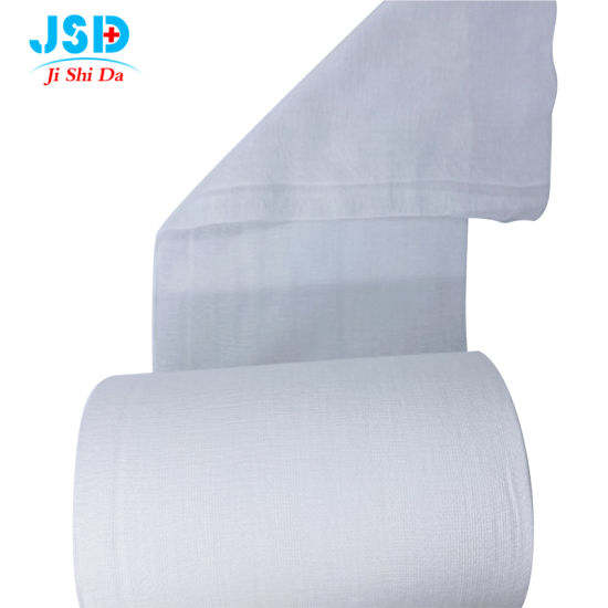 Soft and Breathable Gauze Roll and Gauze Pad with Certification