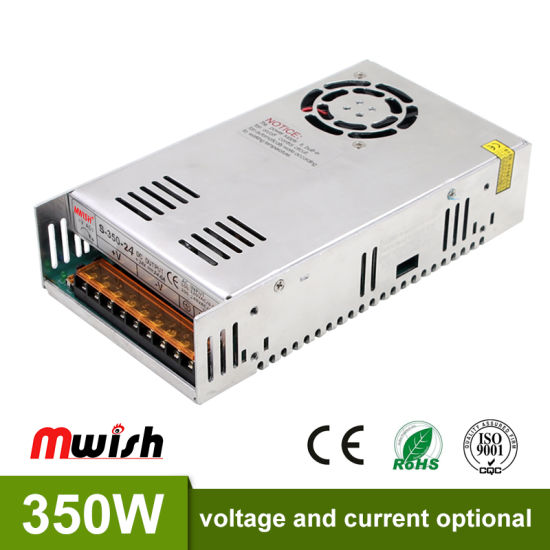 China Factory Price 24V Regulated Power Supply 24V 14.6 AMP SMPS ...